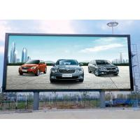 Cheap Full Color P10 Outdoor Advertising LED Display IP65 For Fixed Installation wholesale