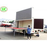 Buy cheap outdoor  full color p10  mobile truck Led Display better viewing text & graphic and video from wholesalers