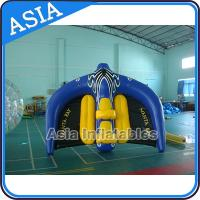 Cheap 0.9mm PVC Tarpaulin Inflatable Flying Manta Ray / Fly Fish Inflatable Water Parks for sale