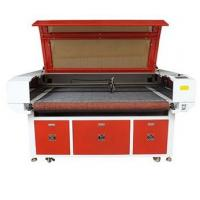 Cheap CCD Camera Auto Feeding Laser Cutting Machine For Textile / Leather / Cloth wholesale