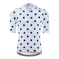 Buy cheap Hot Sell Polkadot Cycling Jersey Men Cycling Jersey With Slim Fit from wholesalers