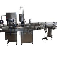 Cheap Automatic Cup Packing Machine With Moist Tobacco Filling , Capping And Labeling Machine wholesale