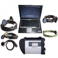 Cheap V2012.11 MB SD Connect Compact 4 Mercedes Diagnostic Tool with DELL D630 Laptop Support Offline Programming wholesale