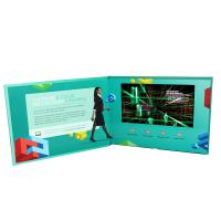 Cheap A5 LCD Cards IPS/HD Video Brochure 210x148mm With Lithium Rechargeable Battery wholesale