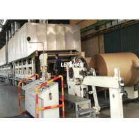 China Recycling 180gsm 300T/D Corrugated Paper Making Machine on sale