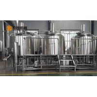 Buy cheap Commercial Micro Beer Brewing Equipment , 10 BBL Beer Brewery Equipment from wholesalers
