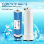 Cheap 400GPD Umkehrosmose Wasser Filter Ersatz + Gehäuse RO Membran Universal HOT wholesale