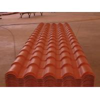 Cheap Heat insulation PVC plastic spanish roof tile for villa house/plastic tile making machine wholesale