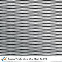 Cheap Stainless Steel 316 Perforated Metal  Round Hole Staggered Type with 1mm Thickness wholesale