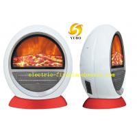 Cheap White ABS Safety Stove Heater Electric Fireplace PTC Fan Heater 20-30m2 wholesale