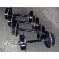 Cheap MA cast iron mining transportation car wheels with 250mm in china wholesale