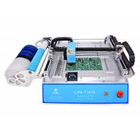 Cheap 2 Heads 29 Feeders CHMT36VA SMD Pick And Place Machine + Two CCD Cameras + External PC, 110VAC/ 220VAC wholesale