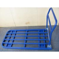 China 1200 X 600mm metal tube foldable trolley  industrial equipments with powder paint finished on sale