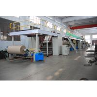 Cheap Corrugated Carton Making Machines , 1800mm Width Cardboard Production Line wholesale