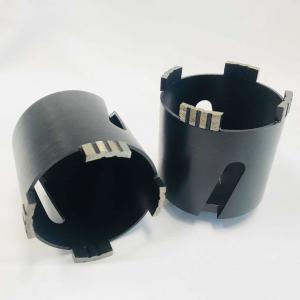 Cheap M16 Thread 82mm Turbo Segment Brick Dry Core Drill Bit Laser Welded wholesale