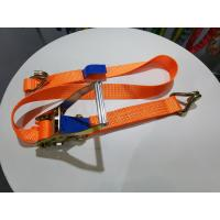 Buy cheap 50mm ratchet straps, Accroding to EN1492-1, ASME B30.9, AS/NZS 4380 Standard, CE from wholesalers