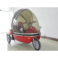 Cheap full closed three wheels tricycle with reverse gear wholesale