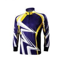 Cheap Classic Design Outdoor Fishing Apparel , Full Custom Sublimated Fishing Jerseys wholesale