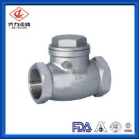 Cheap Handwheel  Swing Female Check Valve Ddcv Double Lobe Easy To Operate wholesale