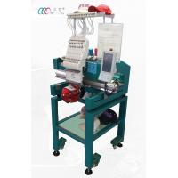 Cheap Single Head 12 Needles Cap Embroidery Machine For 3D Puff Embroider wholesale