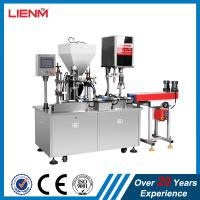 Cheap 25ml, 50ml, 100ml Automatic Lotion Cream Filling Capping Machine wholesale