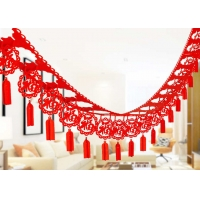 Cheap Chinese Fu Hanging Festival 2mm Felt Holiday Decorations wholesale