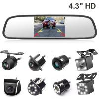 Buy cheap Auto Parking Reverse Camera Mirror PAL / NTSC Compatible Video System from wholesalers