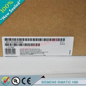 Cheap SIEMENS SIMATIC HMI 6AV2124-1QC02-0AX0 / 6AV21241QC020AX0 wholesale