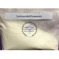 Buy cheap Femara Anti Estrogen Steroids Buliking Cycle Letrazole Raw Powder For Sale 112809-51-5 from wholesalers