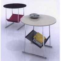 Marble Modern Round Coffee Tables With Storage Bag Of