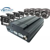 Cheap Fuel Tank Monitoring 3G / 4G GPS Wifi 8ch Mobile DVR CCTV , HDD SSD MDVR With Cameras wholesale