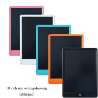 China 10inch LCD  kids writing drawing tablet pad gift kids business book teching tools electronics graphic on sale