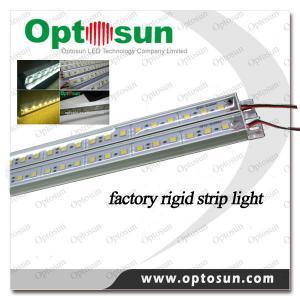 Cheap LED Rigid Strip IP65 LED Cabinet Light Bar 72leds / m 12v CRI 80 wholesale