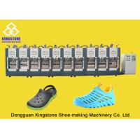 Cheap Rain Boots Plastic Chappal Making Machine , Vertical Shoe Sole Mould Making Machine wholesale