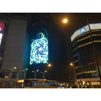 Cheap 7000CD DIP RGB 346 LED Media Facade , Building LED Advertising Boards Waterproof IP65 wholesale