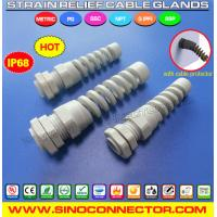 Cheap Bend and Flex Protecting Cable Gland with NPT Connection Thread wholesale