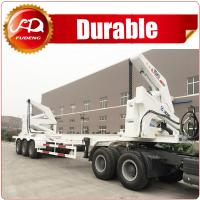 Cheap 3 Axle 40 ft XCMG brand Container Self Loading Container Truck, 20 ft Skeleton Container Side Lift wholesale
