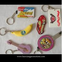 Cheap Made in China high quality 3D Custom soft PVC Rubber Keychain/ Silicone Keyring wholesale