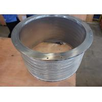 Cheap Slot / Hole Type Rotary Drum Sieve Stainless Steel 304 / 316L Material wholesale