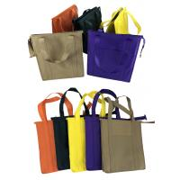 Cheap Printed Pattern Portable Non Woven Aluminum Foil Insulated Food Bags