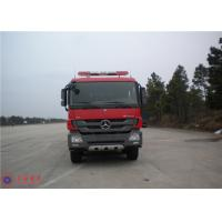 Cheap Mercedes Chassis Fire Fighting Vehicles Monitor Flow 100L/S Overturning Type Cab wholesale
