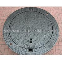 Cheap High Quality Iron Cast Lockable Hinged Manhole Covers Make In China wholesale
