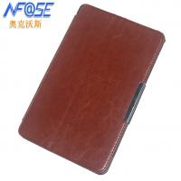 Simple Surface Protective Acer Tablet Leather Case With Stand Foldable Soft