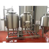 Buy cheap 300L Small Brewery Equipment Two Vessel Brewing Semi - Automatic Control from wholesalers