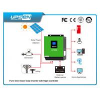 Cheap High Frequency Inverter Solar Controller All In One With Pure Sinewave wholesale