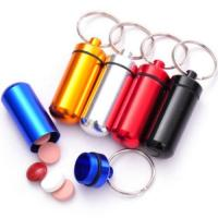 Cheap Metal Pill Box Keychain/Medicine Chest wholesale
