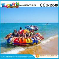 Cheap 0.9mm PVC Inflatable Water Parks Inflatable Disco Boat Saturn 1 Years Warranty wholesale