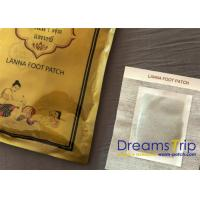 Thai Cleansing Detoxification Foot Pads Patch Purify Herbal Single Foil Pouch Pack