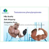 Buy cheap Testosterone Raw Steroid Powders Test Phenylpropionate Hormone 99% Min Assay from wholesalers