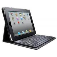Cheap OEM Spill - proof apple , ipad1 , Ipad 2 Leather Bluetooth Keyboard Case with Solar Panel wholesale